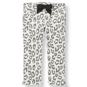 Janie and Jack Parisian Park Snow Leopard Pants 5